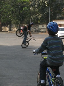 BMX! (Photo: Shyam G Menon)