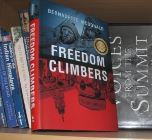 The book `Freedom Climbers.' (Photo: Shyam G Menon)
