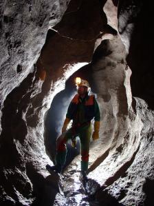 Below the ground in Meghalaya (Photo: Simon Brooks)
