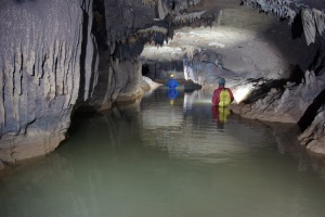 Inside a cave in Meghalaya (Photo: Simon Brooks)
