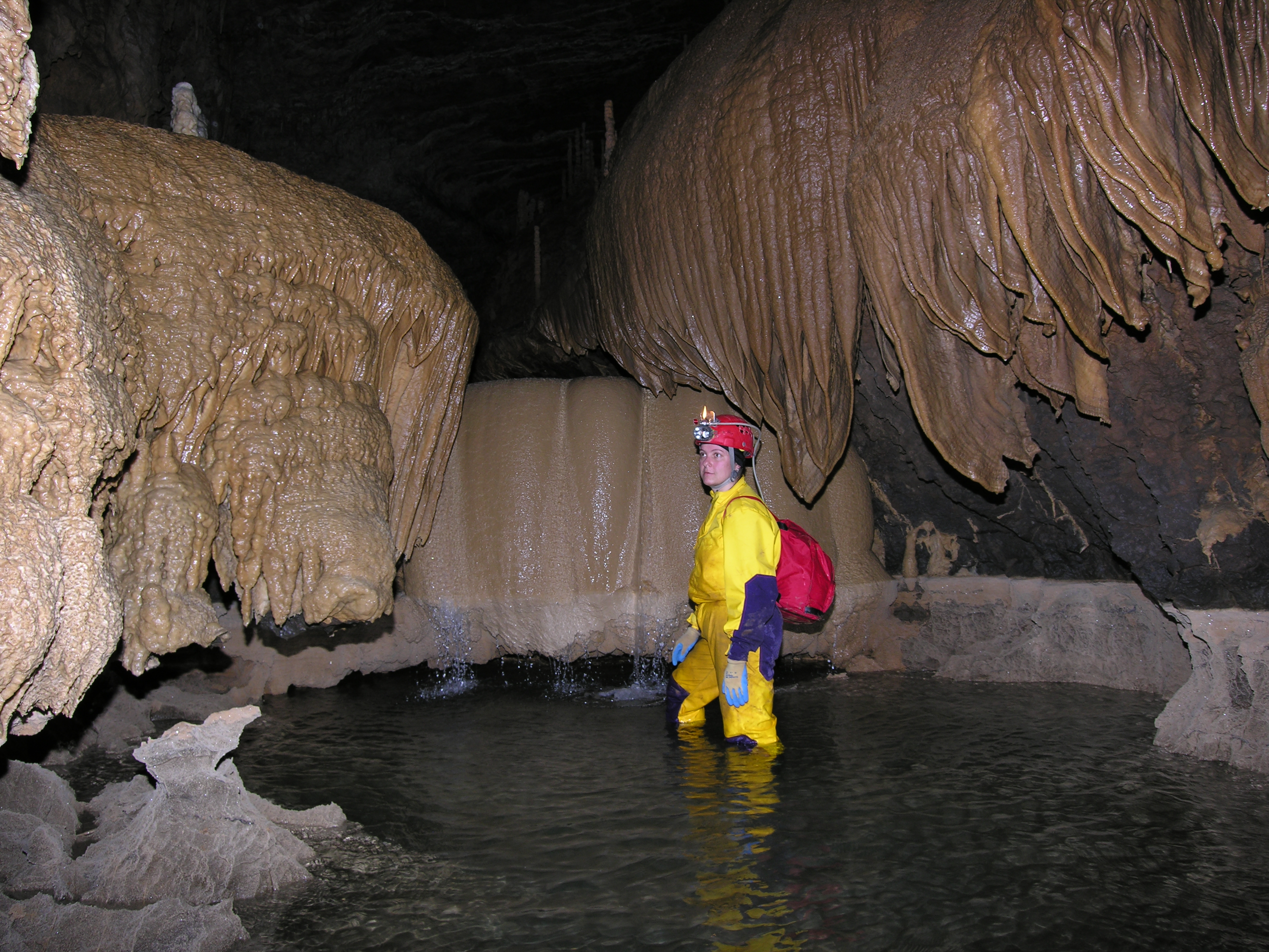 Image result for Limestone Caves in Meghalaya