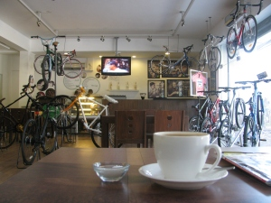 Bangalore's Track & Trail cafe (Photo: Shyam G Menon)