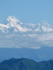 Nanda Devi, as seen from Ranikhet (Photo by Shyam G Menon)