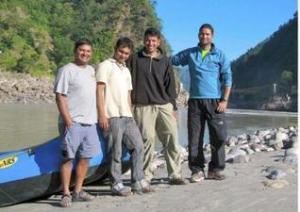 The river guides of Sirasu (Photo: Shyam G Menon)