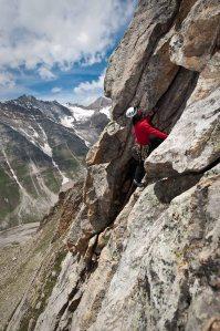 Vaibhav on Toro Peak (Photo: Sharad Chandra)