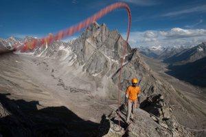 Shyam Sanap on Toro Peak (Photo: Sharad Chandra)