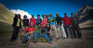 The team (Photo: Sharad Chandra)