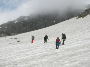 Suma's group near the Rupin Pass (Photo: Suma Rao)