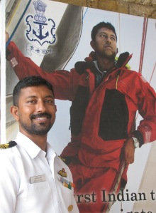 Lt Commander Abhilash Tomy (Photo: Shyam G Menon)