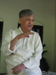 Prof Vasant Karnad (Photo: Shyam G Menon)