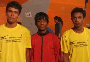 Adarsh, Akash and Sachin