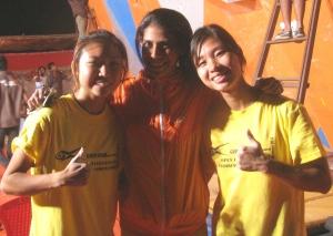 Lynette, Neha and Janet