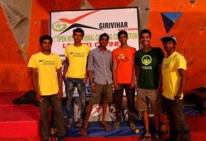 The blitz gang. From left - Madhu, Adarsh, Ajij, Gaurav, Tuhin and Sandeep (Photo: Vinay Potdar)