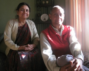 Dr Uma Bhatt and Dr Shekhar Pathak (Photo: Shyam G Menon)
