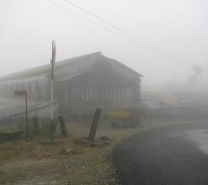 The office of the old tea factory at Ponmudi (Photo: Shyam G Menon)