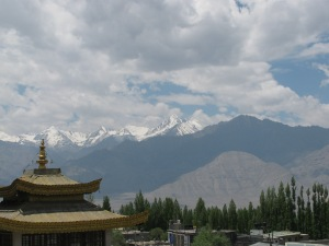 Stok Kangri; the view from Leh (Photo: Shyam G Menon)