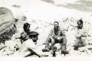 Pasang Namgial and Jamshed (Jimmy) Homiar on their return from the summit of Ali Ratan Tibba (Photo: courtesy Ravi Kamat)