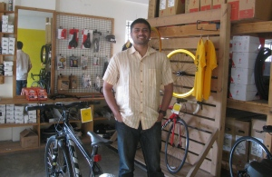 Rohan at the BOTS showroom in Jayanagar, Bengaluru (Photo: Shyam G Menon)