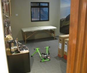 The Bike Fit-facility at the shop (Photo: Shyam G Menon)