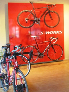 The Specialized store on Infantry Road, Bengaluru (Photo: Shyam G Menon)