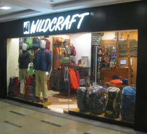 A Wildcraft showroom; this one is at the Inorbit Mall, Navi Mumbai (Photo: Shyam G Menon)