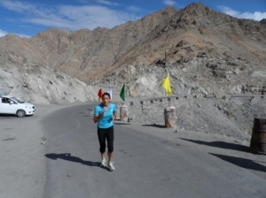 Running in Ladakh (Photo: by arrangement)