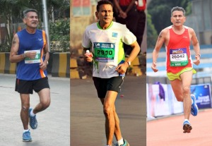 Bhasker running at events in Mumbai and Bengaluru (Photos: courtesy Bhasker)