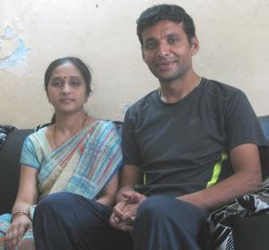 Surekha and Dnyaneshwar (Photo: Shyam G Menon)