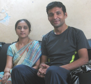 Surekha and Dnyaneshwar (Photo: Shyam G Menon)