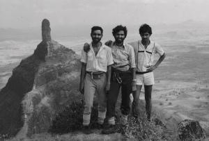 On Mangi pinnacle; Tungi in the backdrop