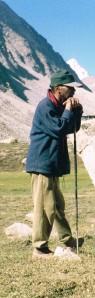 In Zanskar (Photo: from the collection of Abhijit Burman)