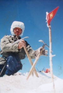 Bodh, on the summit of Phabrang (Photo: by arrangement)