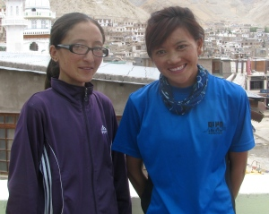 Tsetan Dolkar (left) and Jigmet Dolma (Photo: Shyam G Menon)