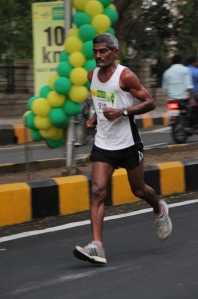 Sabhajeet at the 2015 Vasai-Virar Mayor's Marathon (Photo: by arrangement)