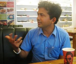 Girish Mallya (Photo: Shyam G Menon)