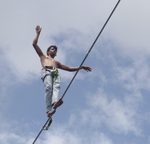 Bhupesh Patil on For Richie in Badami (Photo: courtesy Samar Farooqui)