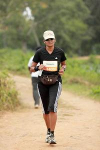 Sangeeta Shetty; 2012 Kaveri Trail Marathon (Photo: courtesy Sangeeta Shetty)
