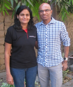 Sangeeta and Sunil Shetty (Photo: Shyam G Menon)