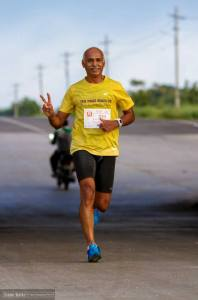 Kothandapani during The Run of Raramuri Tribe, Bengaluru, 2014 (Photo: courtesy Kothandapani)