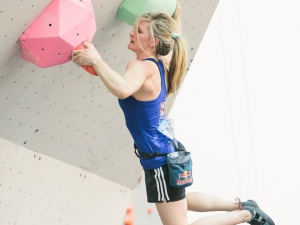Shauna Coxsey (Photo: courtesy IFSC)