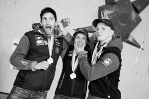 Kilian Fischhuber, Anna Stohr and Jakob Schubert (Photo: courtesy Kilian Fischhuber)