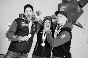Kilian Fischhuber, Anna Stohr and Jakob Schubert (Photo: courtesy Kilian Fischhuber)