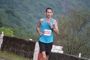 Philip at the Satara Hill Marathon (Photo: courtesy Philip Earis)