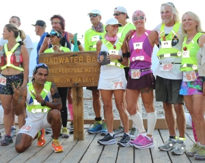 Breeze with other runners (Photo: courtesy Vijayalakshmi Nadar)