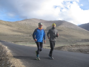 Morning of August 14; Grant and Jovica on the final stretch to Dibrung (Photo: Shyam G Menon)