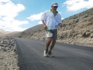 Mark on the final stretch to Dibrung (Photo: Shyam G Menon)