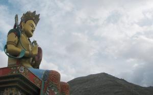Diskit's Maitreya Buddha statue (Photo: Shyam G Menon)