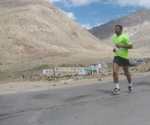 Hari Om, on the home stretch from South Pullu (Photo: Shyam G Menon)