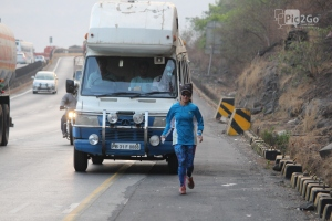 Running the Golden Quadrilateral (Photo: courtesy Michelle Kakade)