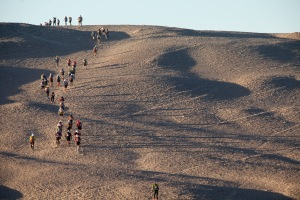 From the race in the Sahara desert; part of 4 Deserts (Photo: courtesy Michelle Kakade)